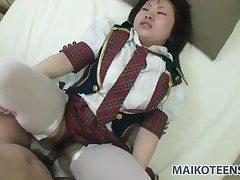 Japanese schoolgirl a great deal prevalent a hot tax