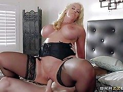 Alura Jenson is a crazy as hell mom with gigantic