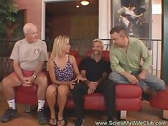 Nasty Housewife Wags For First Time