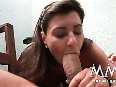 German mature wifey gets the cock inwards her