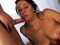 Scambisti Maturi - Italian four-way with mature ass-fuck Laura