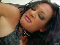 Black haired nasty milf Tory Allude close by big juicy arse